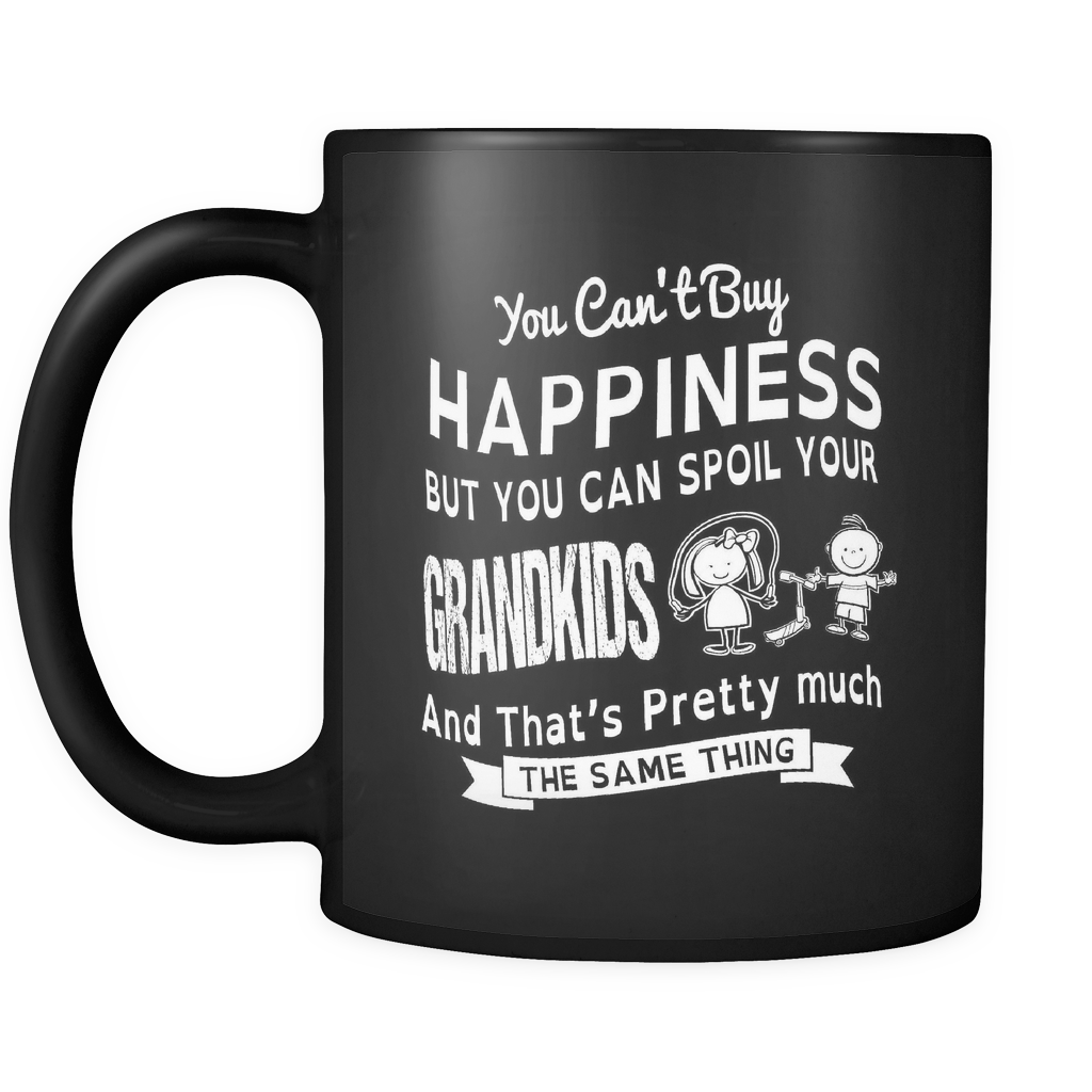 Happiness and Grandkids Mug