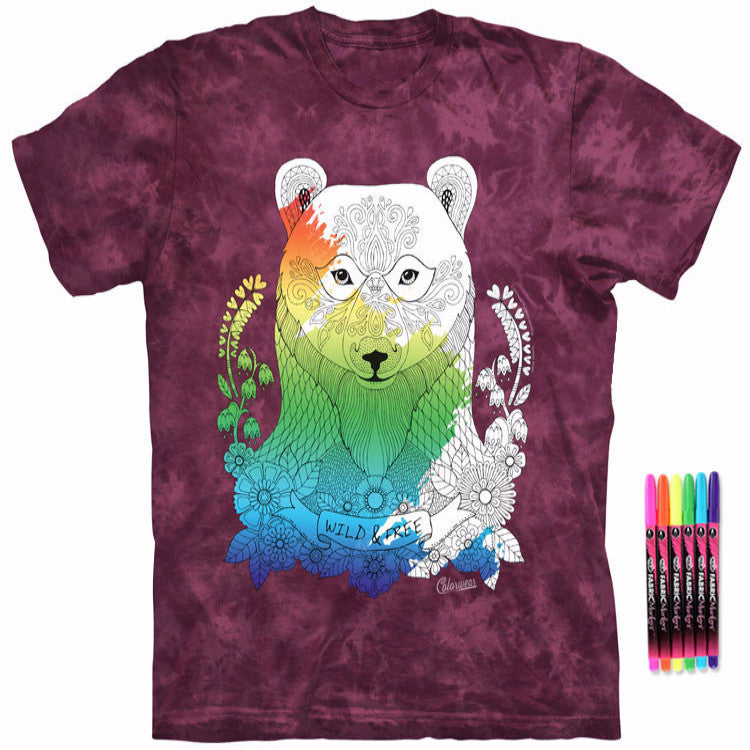 Color Me Beauty Bear