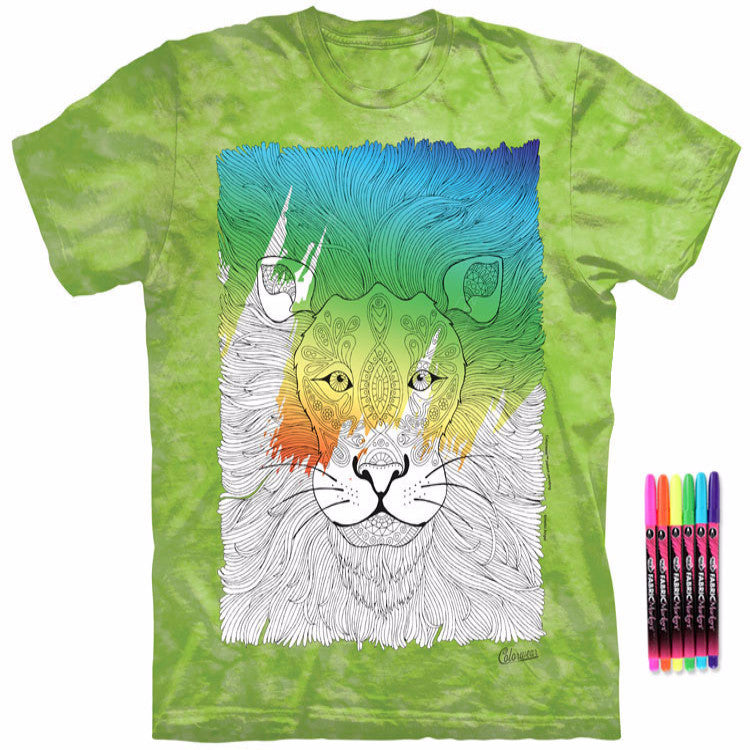 Color Me Lovely Lion