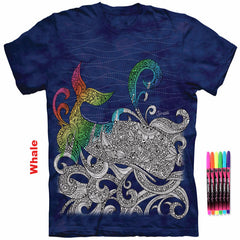 Color Me Ocean Wonders Collection