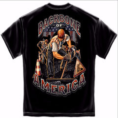 American Construction Worker Tshirt