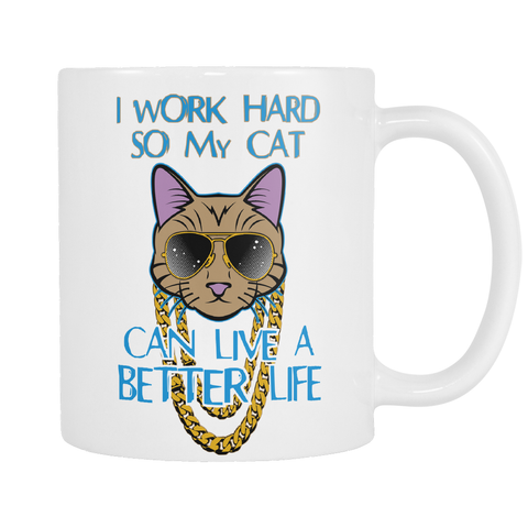 Work Hard for Cat