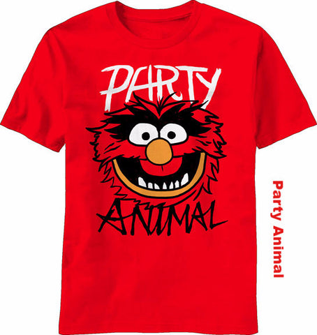 Officially Licensed Sesame Street T-Shirts