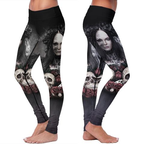 The Lady Skull Leggings