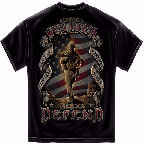 This We'll Defend American Soldier Shirt