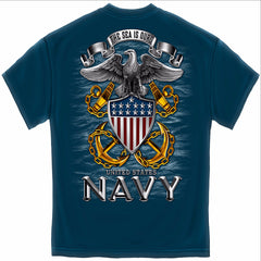 The Sea Is Ours U.S. Navy T-Shirt