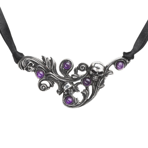 Skulls Entwined Necklace