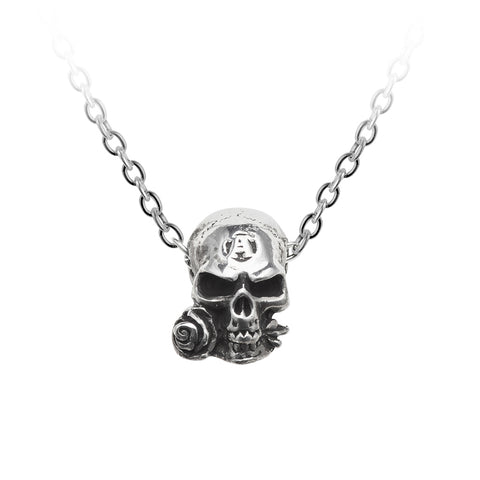 Anarchy Skull Necklace