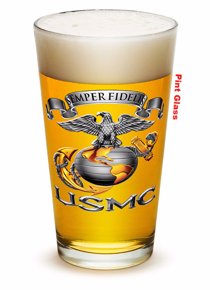 Officially Licensed USMC Drinkware