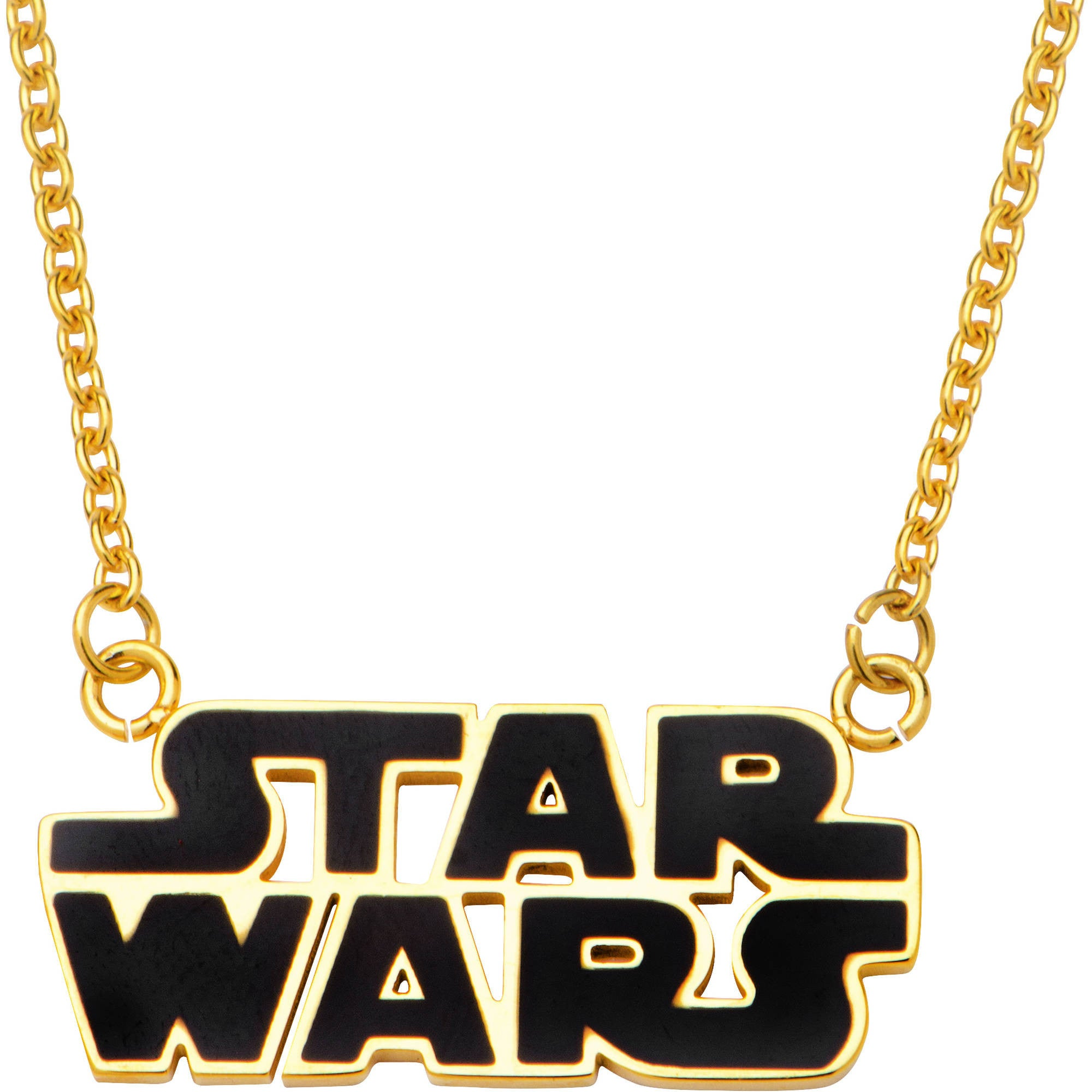 Star Wars Women's Gold Chain And Pendant