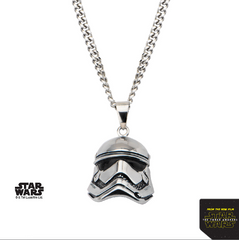Star Wars Men's Stormtrooper Episode 7 Pendant Necklace