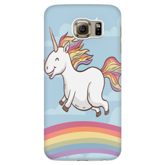 Multi-colored Rainbow Unicorn Phone Case - iPhone and Samsung
