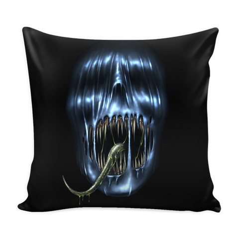 Alien Skull Pillowcase