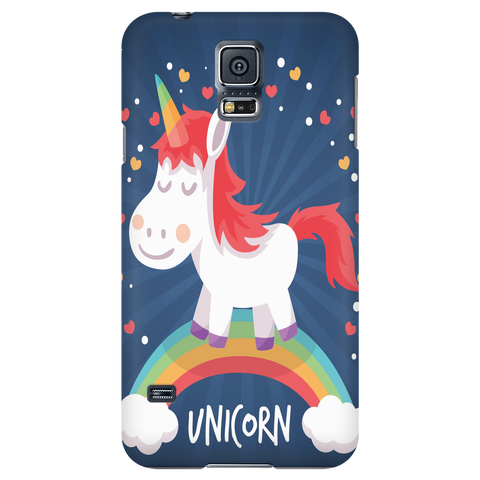 Unicorn Rainbow Cell Phone Case - iPhone and Samsung