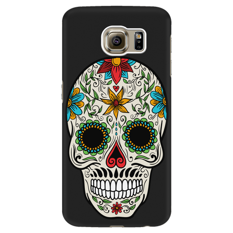 Colorful Skull Cell Phone Case - iPhone and Samsung