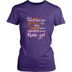 Kinda Girl T-Shirt Design
