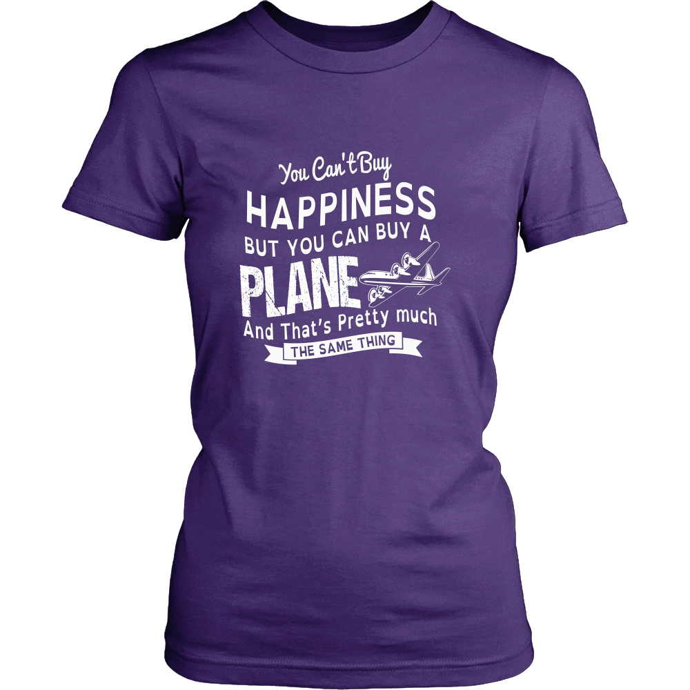 You Can't Buy Happiness, But You Can Buy a Plane