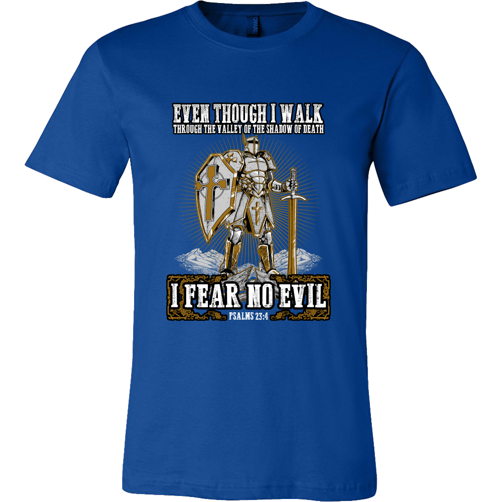 I Will Fear No Evil T-Shirt, Hoodie, and Sweatshirt