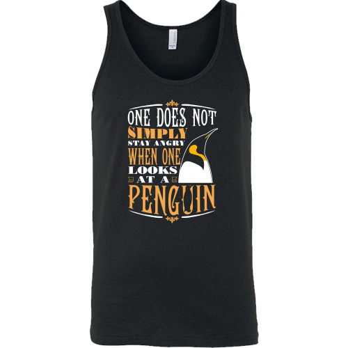 Never Angry at Penguins
