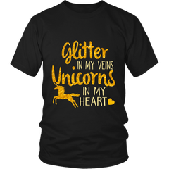 Glitter in My Veins Unicorns in My Heart