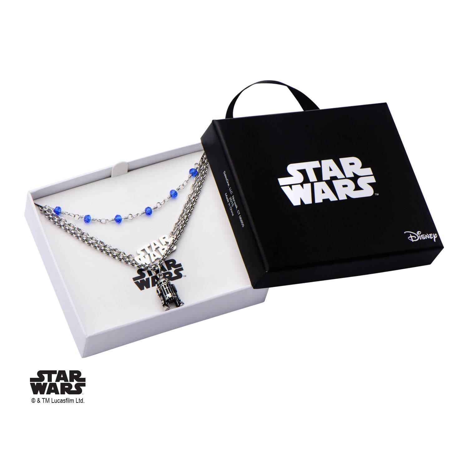 Star Wars Women's R2D2 Triple Layered Necklace