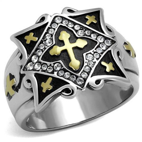 Three Cross Ring