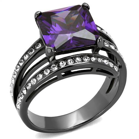 Women's Ion Plated Gemstone Fashion Rings