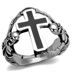 Ion Plated Stainless Steel Cross Ring