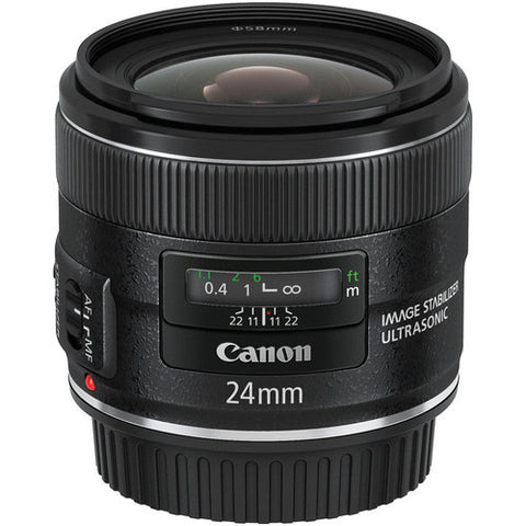 Canon 24mm EF f/2.8 IS USM Lens