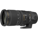 The Sigma 70-200mm f/2.8 EX DG APO OS HSM for Nikon