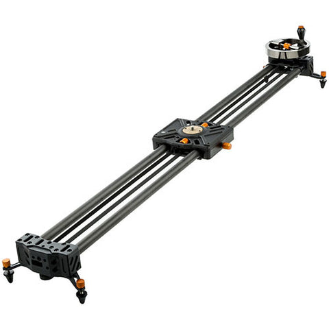E-Image ES-120 4ft Slider with Video Head & 2 End Stands