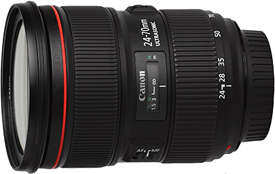 "Canon EF 24-70mm f/2.8 ""L""Lens"