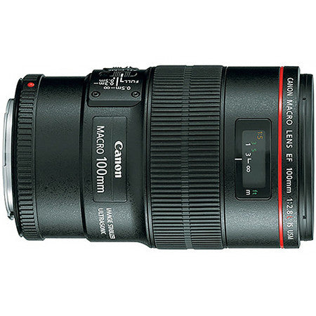 "Canon 100mm Macro USM IS ""L"" Lens"