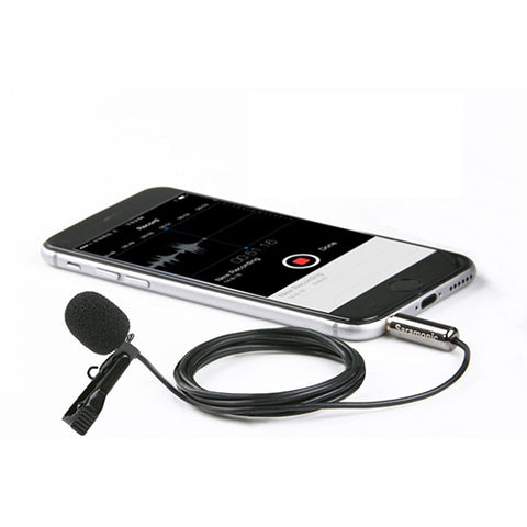 Saramonic SR-LMX1 Lavalier Microphone for Mobile Devices