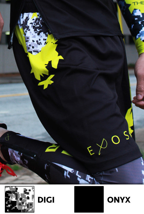 EXOSKYN TF-X INCLIMATE ATHLETIC SHORTS