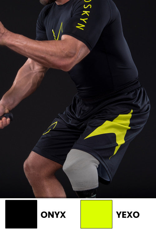 EXOSKYN GENEXIS ALL-TRAIN ATHLETIC SHORTS