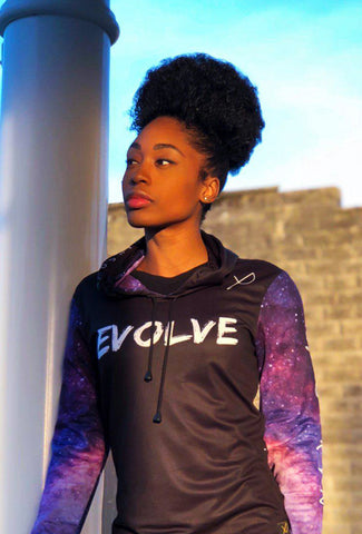 "PRE-ORDER:  MYRISSA JOY COLLECTION - MEN'S ""EVOLVE"" VELOCITY HOODIE"
