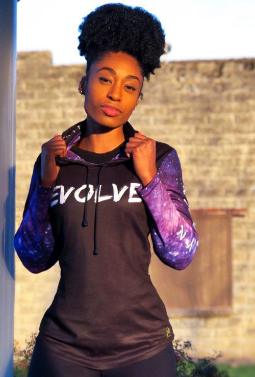 "PRE-ORDER:  MYRISSA JOY COLLECTION - WOMEN'S ""EVOLVE"" VELOCITY HOODIE"