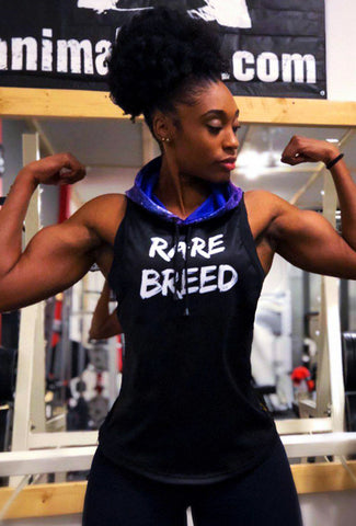 "PRE-ORDER:  MYRISSA JOY COLLECTION - WOMEN'S ""RARE BREED"" REFLEX SLEEVELESS HOODIE"