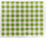 PLACEMAT-Blue Strawberry with Green Checks