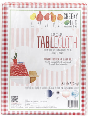 Tablecloths with Gingham Small