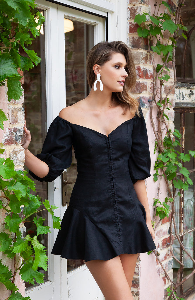 Rommy Dress Black