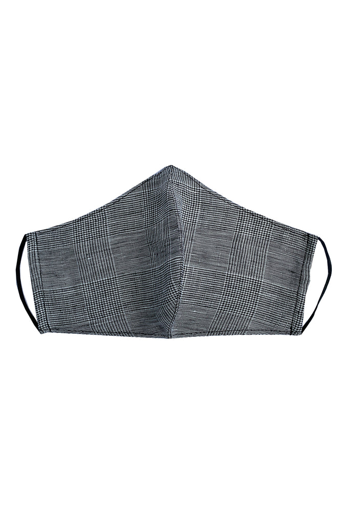 REUSABLE LINEN FACE MASK CHECK