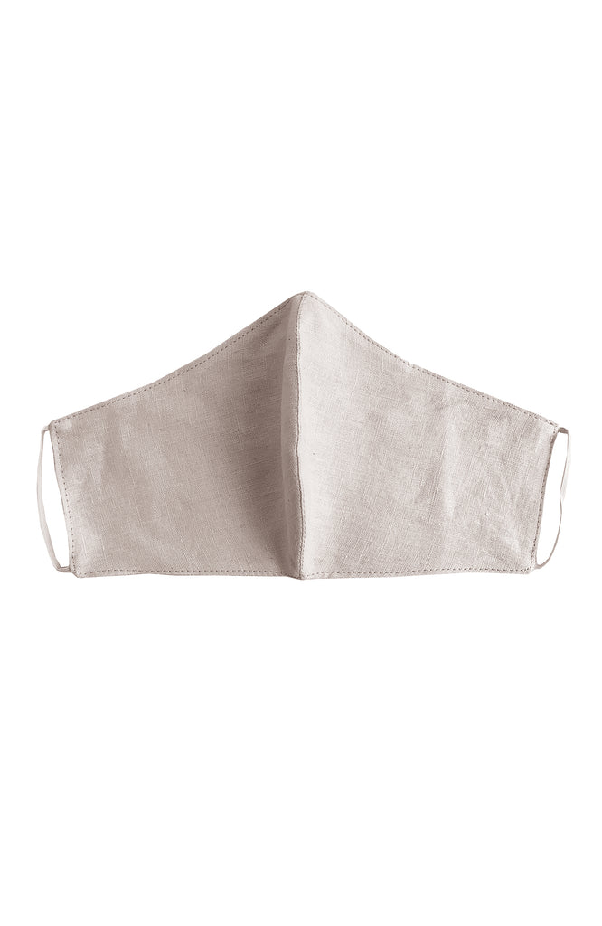 REUSABLE LINEN FACE MASK SHERBET