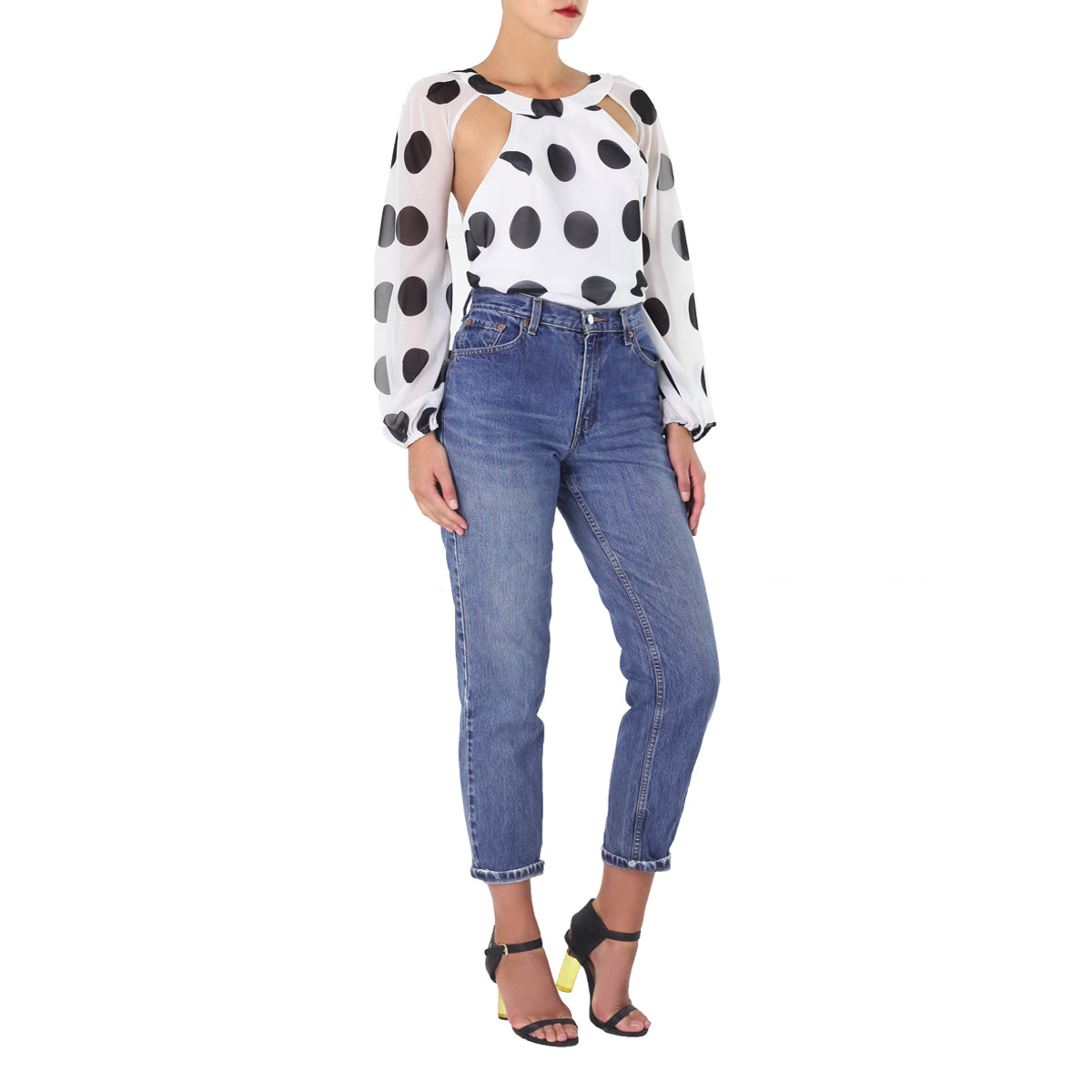 Polka Dot Maya Top