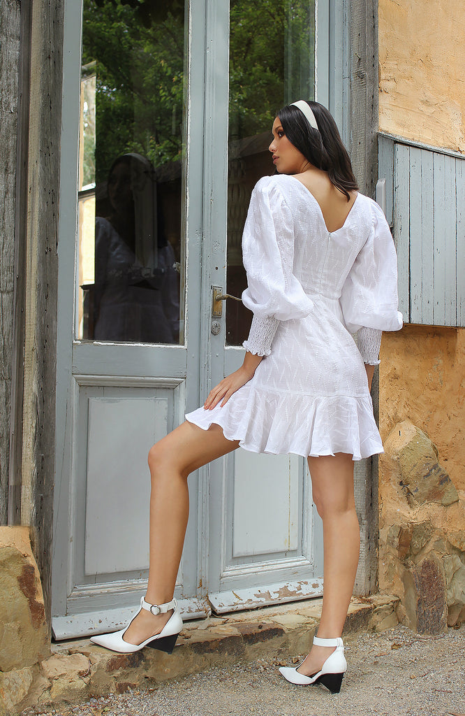 Rumer Dress White
