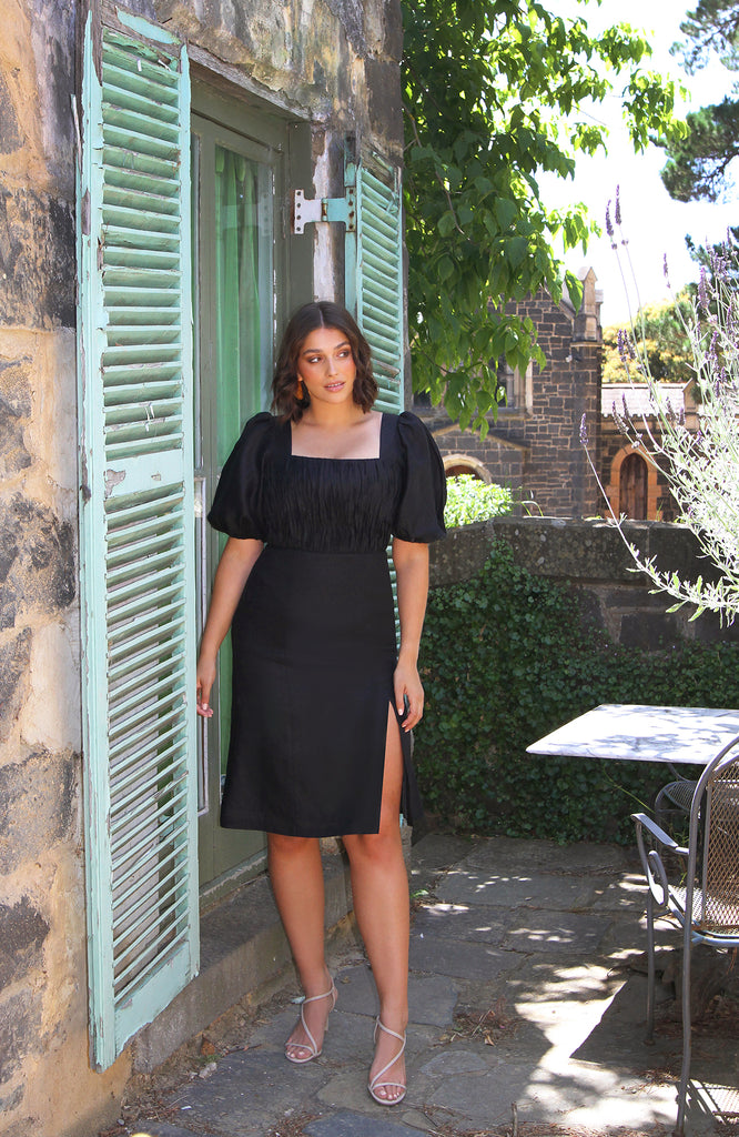 Paloma Dress Black
