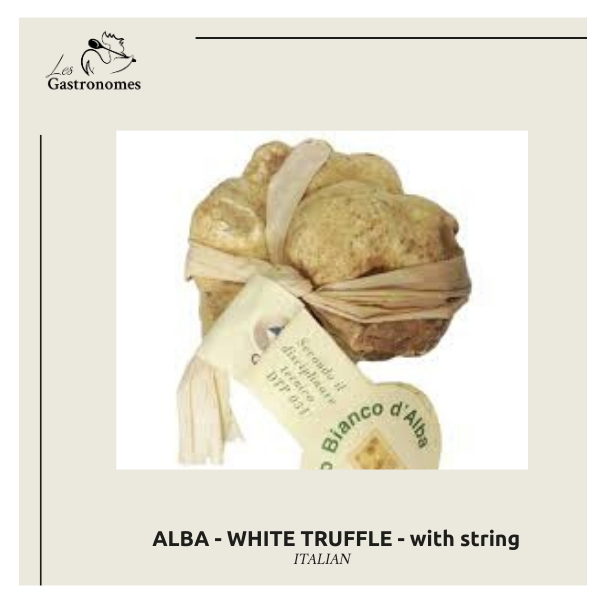 ALBA - White Truffle with Strings