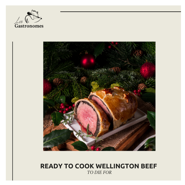 Christmas Wellington Beef - Ready to Cook