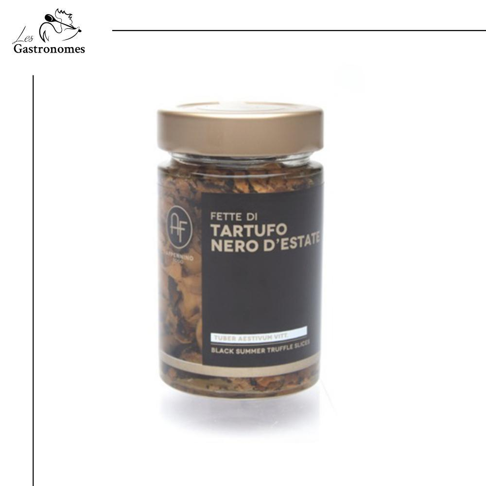 Black Summer Truffle Slices in Oil _ 180g-Truffle-Les Gastronomes